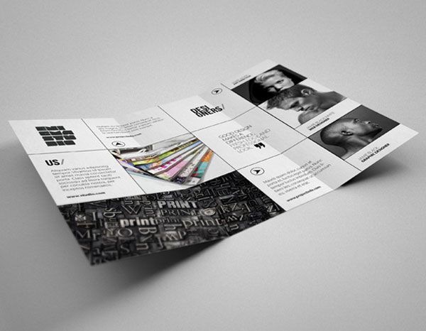 Creative studio brochure design inspiration 3 20 simple for Furniture brochure design inspiration