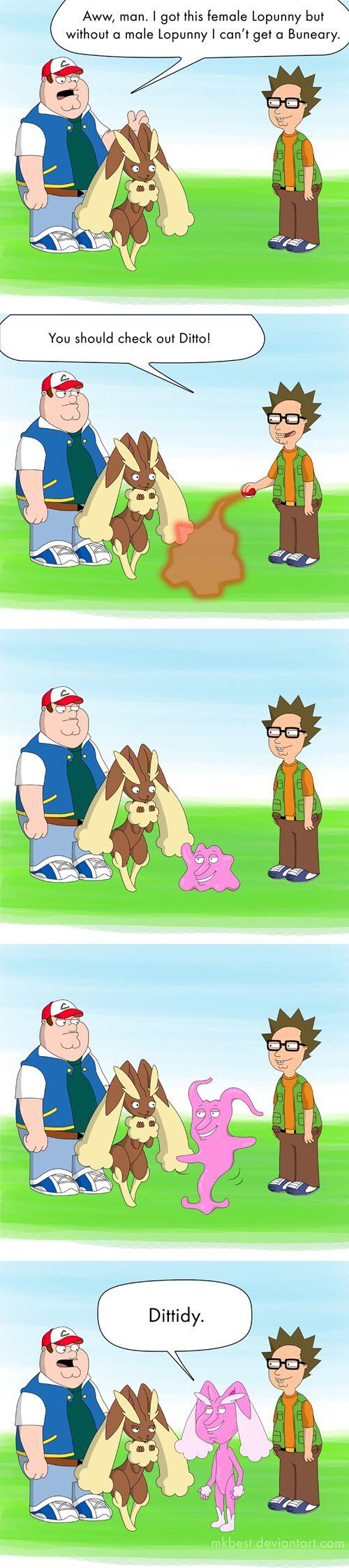 Pokémon in Family Guy