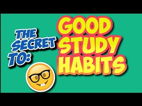 How to Develop GOOD STUDY HABITS - Learn How To Stop Getting Distracted!