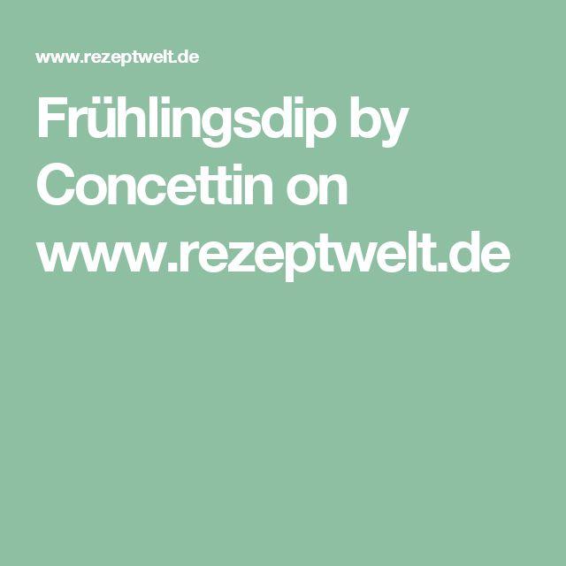 Frühlingsdip by Concettin on www.rezeptwelt.de
