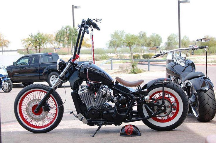 Black and Red Bobber   Motorcycle Mania   Pinterest ...