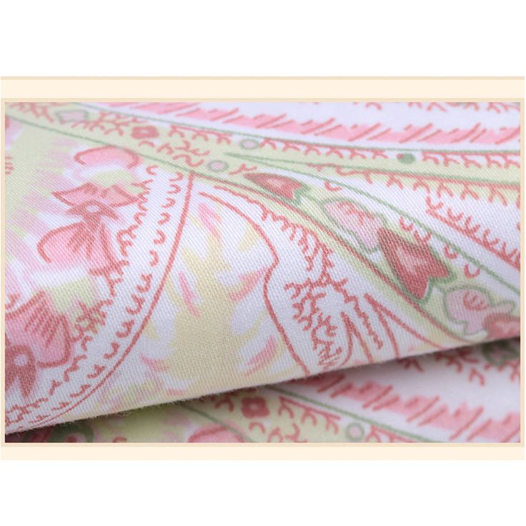 BIDORA Combed cotton satin fabric bedding pillowcases bed sheets curtains fabrics apparel fabrics handmade DIY accessories 1 yrd