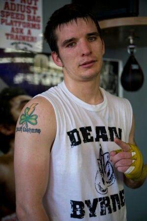 Dean Byrne- Irish boxer