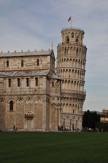 Leaning Tower of Pisa and Duomo Santa Maria Assunta