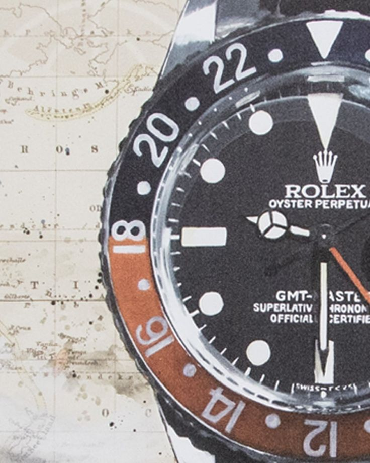 Rolex-GMT-Master 1675 - Historic Horological Art by Cay Broendum available on our shop