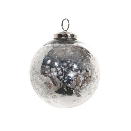 Set of 4 Antique Silver Glass Baubles, Buy Online at LuxDeco