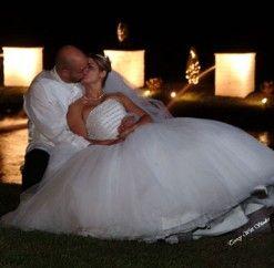 #anthonyslakeside #wedding #night #fountains