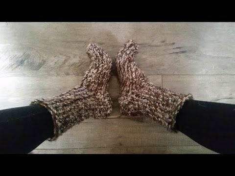 How to knit east big chunky socks on a Loom, 1 hr project, My Crafts and DIY Projects