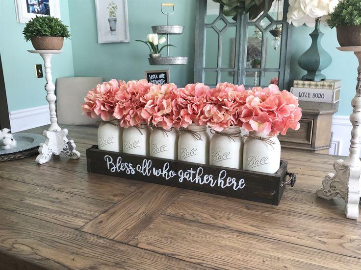 A personal favorite from my Etsy shop https://www.etsy.com/listing/522786518/mason-jar-centerpiece-mason-jar-table