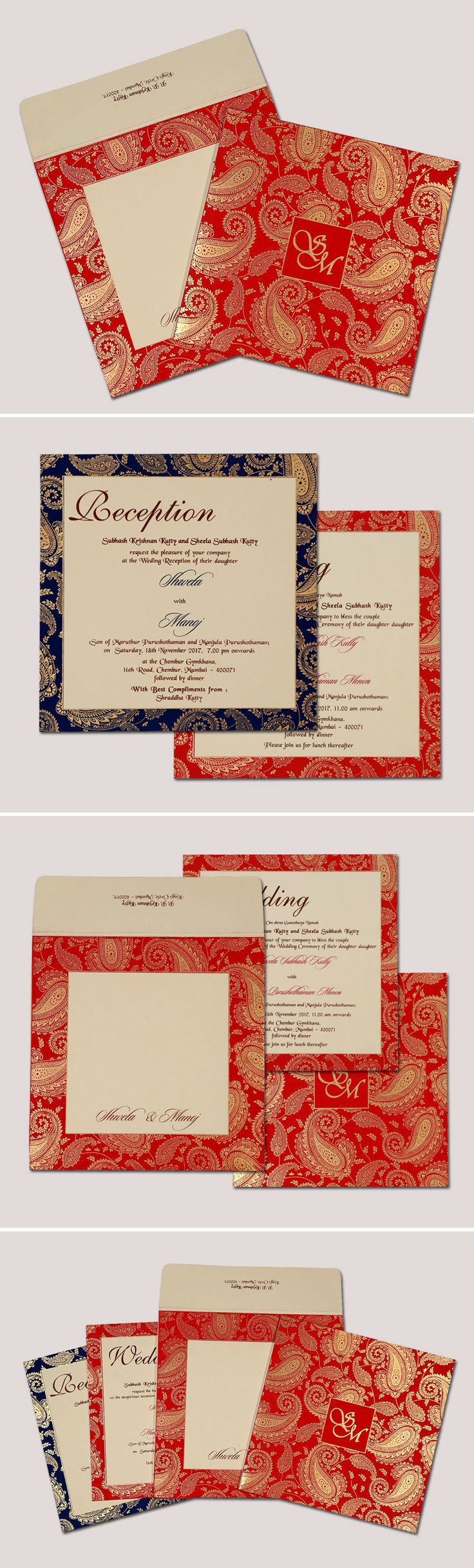 8 best Delightful South Indian Wedding Invitations images on ...