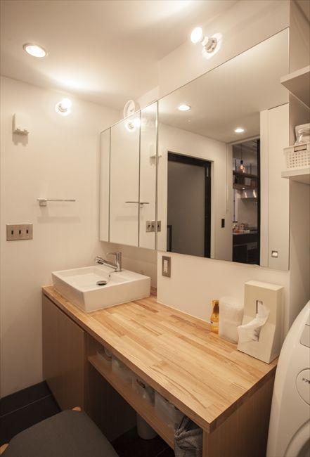 洗面リフォームで「使いやすさアップ」気になる費用と実用例 | iemo[イエモ]