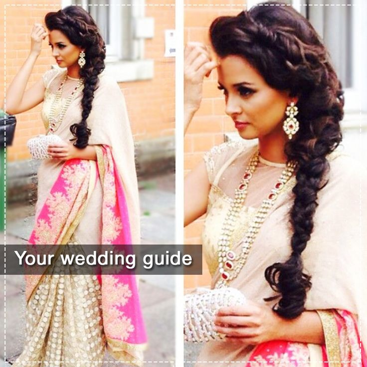 Indian Braids Hairstyle: Still Wondering What Hairstyle To Have For Your Wedding