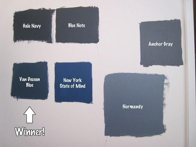 Hale Navy Pottery Barn Vs Winner Van Deusen Blue