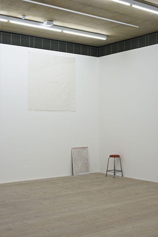 """Ian Kiaer """"Tooth House"""" (vista de la instalación) Focal Point Gallery Reino Unido"""