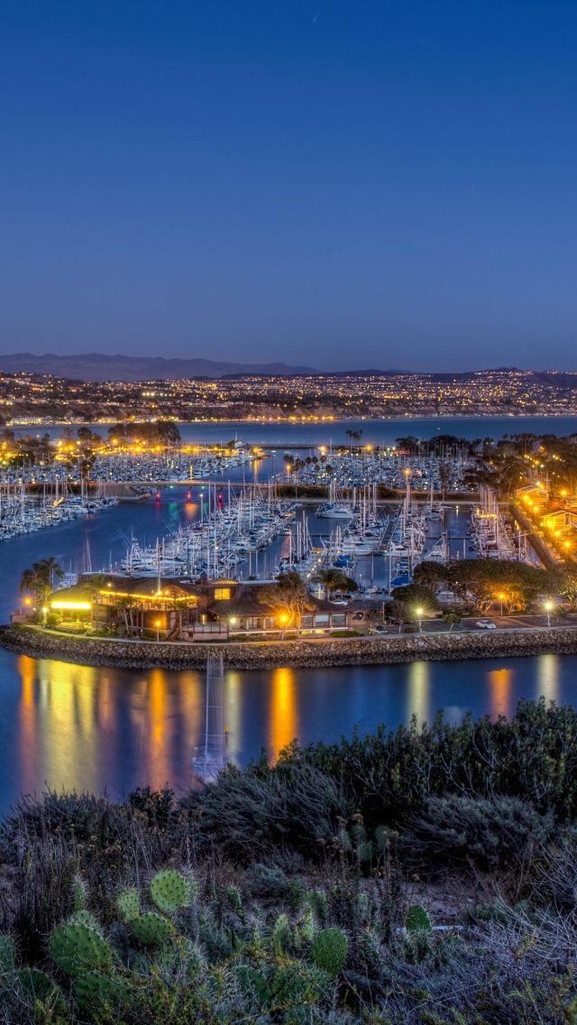 us, coast, dana point, california, harbor, night click #CatalinaIsland #SantaCatalina #CatalinaExpress #DanaPoint
