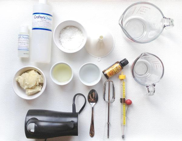Making lotion doesn't have to be a complicated affair. Learn how to make a basic lotion featuring shea butter, none of the additives and all the essentials. You'll love it for its simplicity. Let's get started!   Tags: Bath & Beauty, Electric Mixer, Preservative, Lavender Essential Oil, Almond Oil