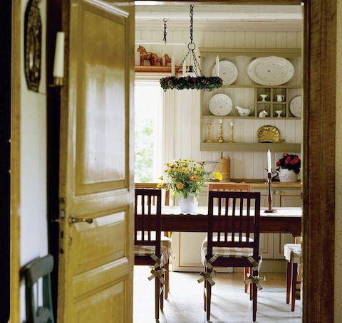 Kitchen - Inspired by Carl & Karin Larsson´s home in Sundborn