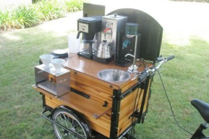Icicle Tricycles Coffee Cart