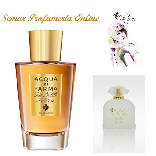 Profumo donna 100 ml Iris Nobile Sublime Acqua di Parma by Chogan cod. 009