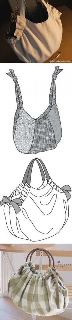 Bolso de tela patron #costura Más