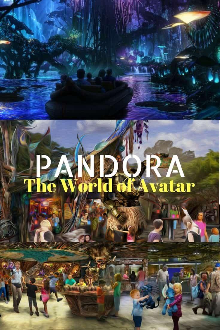 Pandora – The World of Avatar will open at Disney's Animal Kingdom on May 27, 2017 via @disneyinsider
