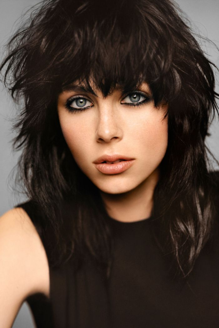 Get inspired by Edie Campbell for YSL Black Opium