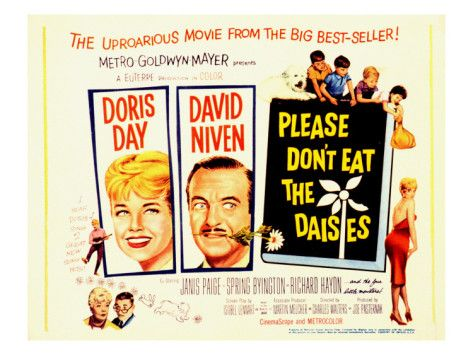 Please Don't Eat the Daisies, with Doris Day, Spring Byington, Richard Haydn, and David Niven, 1960