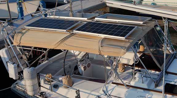 Solar Panel Dodger Installation Liberty Has 2 Panels