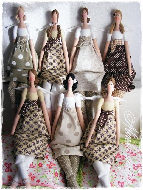 - 13 Мая 2011 - Кукла Тильда. Всё о Тильде, выкройки, мастер-классы.