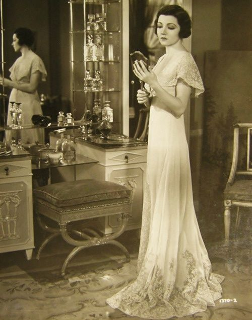 Getting ready in 1930s.