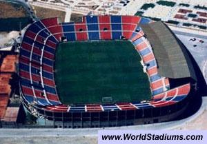 Estadio Ciudad de Valencia, Levante