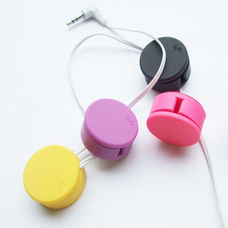 0.99$  Buy here - Multi-color 3.1*3.1cm  Headphone Winder Phone Screen Wipe Practical Tools,Cable Winder, Cord Organizer   #buyininternet