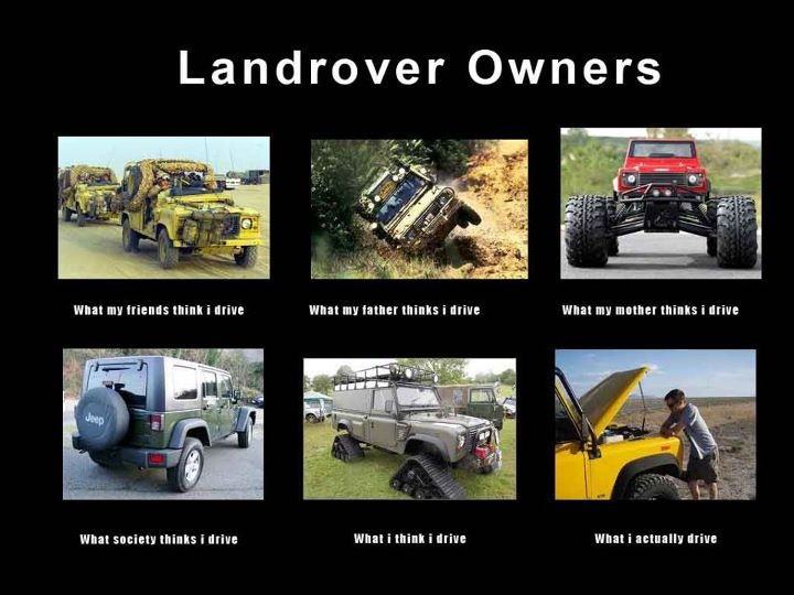 What people think about #LandRover (this even funnier that I know the guy in the last pic)