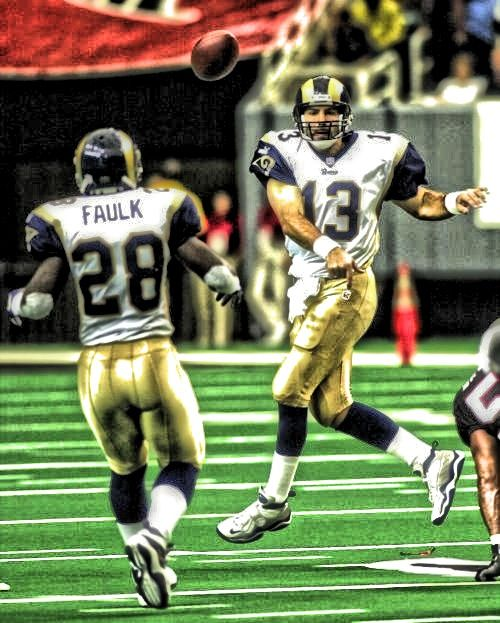 Kurt Warner & Marshall Faulk