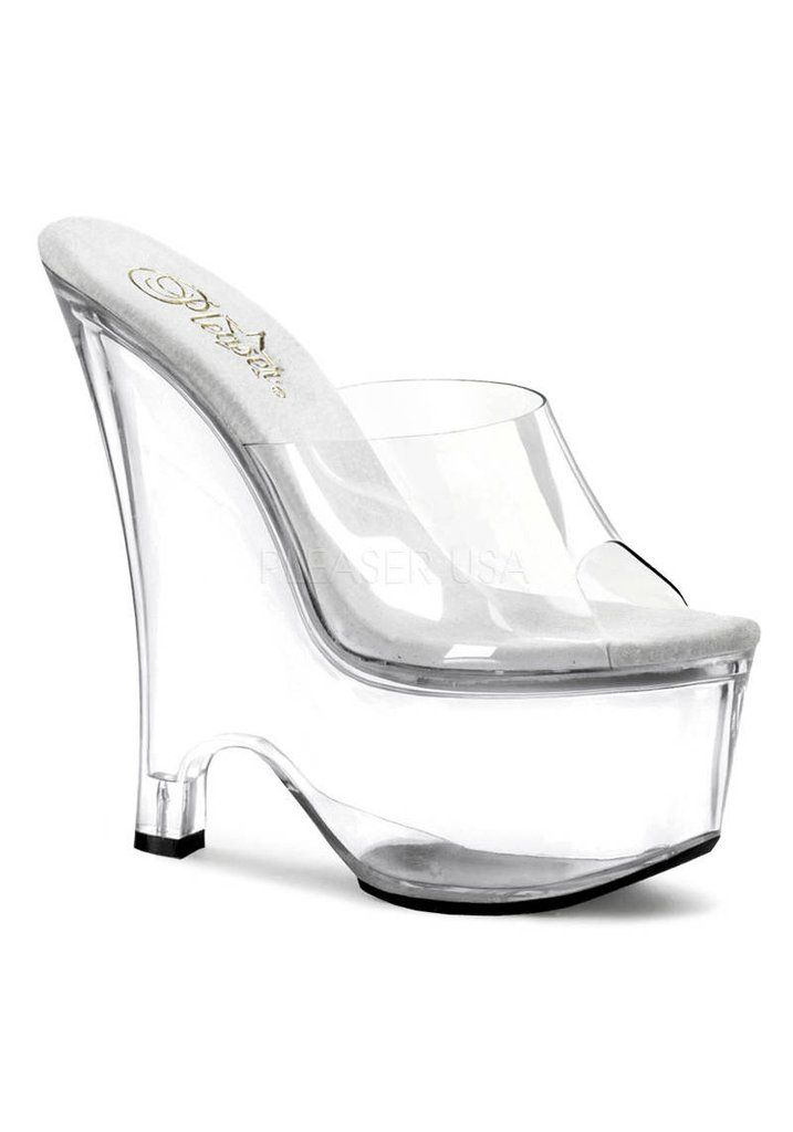 6.5 Inch Wedge Mule Women'S Size Shoe – 1Deebrand  #fashion #beauty #slippers #sandals #wedges #footwear #ladies #ladiesfootwear #mensfashion #womensfashion #1deebrand