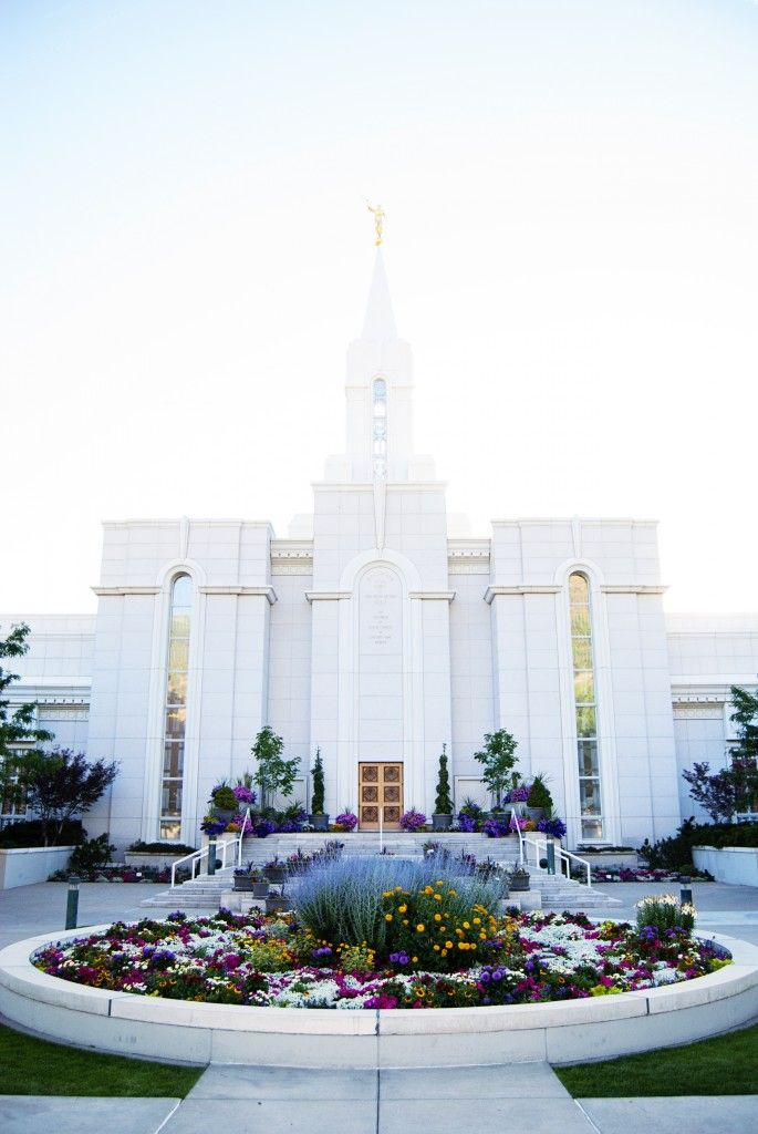 Free LDS Temple Image - Bountiful