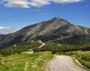 Výstup lvovských na Sněžku přes tři vrcholy