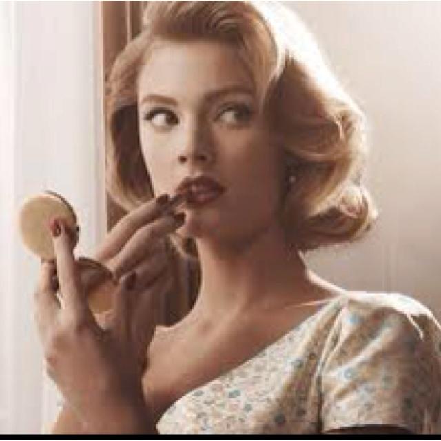 Make-Up: Wedding Hair, Hairstyles, Fashion, Hair Styles, Vintage, Madmen, Makeup, Mad Men, Beauty