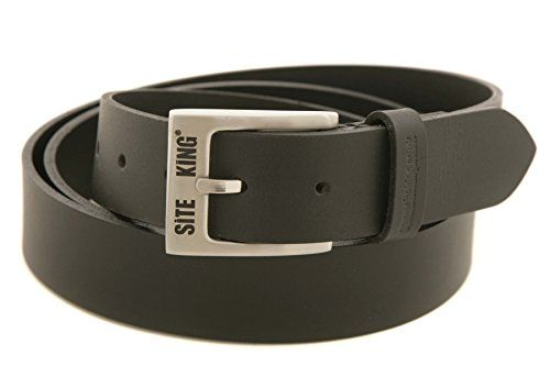 From 8.95 Mens 100% Leather Work Belts By Site King - Work Casual Leisure (34 Waist)