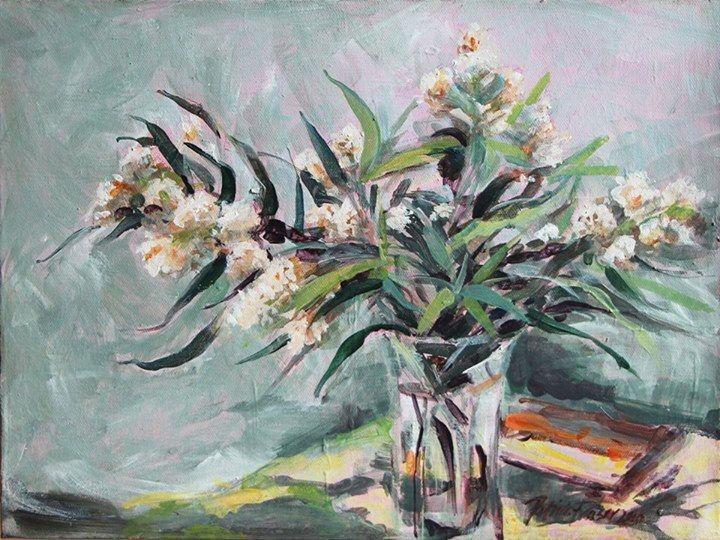 'Buddleia' | Acrylic on Canvas