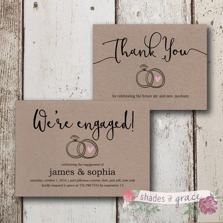 2628 best Engagement Party Invitations images on Pinterest