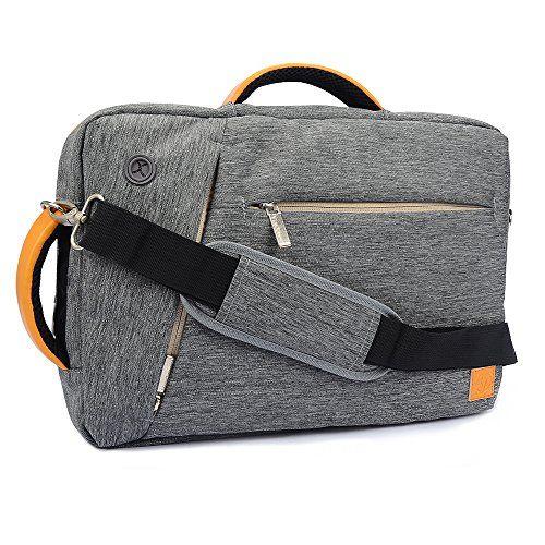 VanGoddy New Hybrid Design Backpack Messenger Shoulder Bag Briefcase for 10.1 10.6 10.8 11.6 12.1 12.2 Apple OS X MacBook/ Windows Surface Laptop Notebook Ultrabook Chromebook Tablet Computer (Gray)