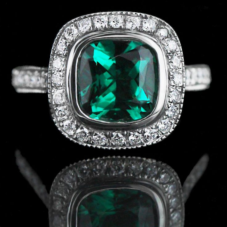 132 best images about Gemstone Engagement Rings on Pinterest