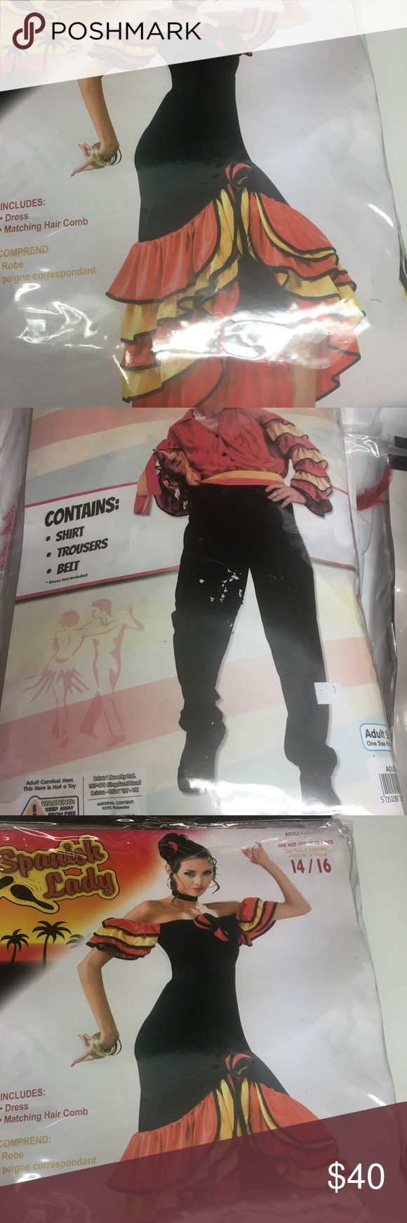 Guy & girl Spanish dancer costume Great condition. Perfecf for Halloween! Will sell separately! Other