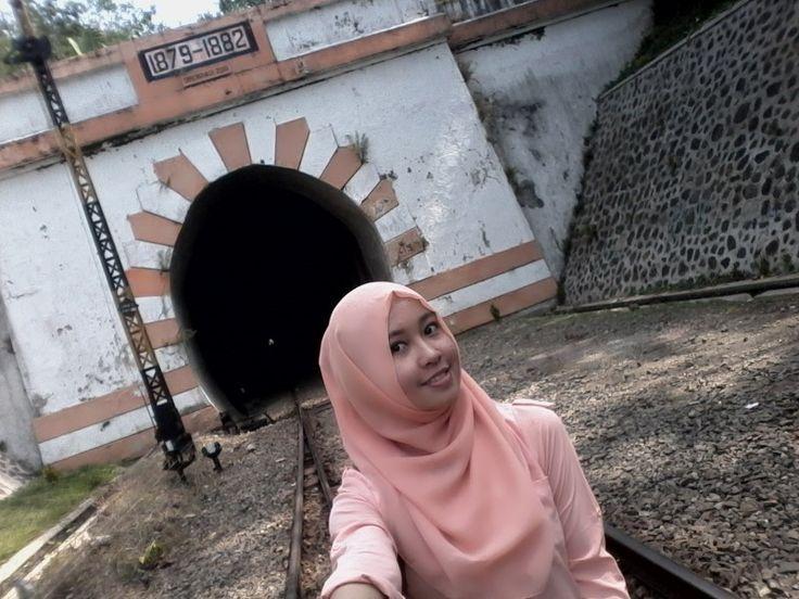 At Lampegan Station, Cianjur, West Java