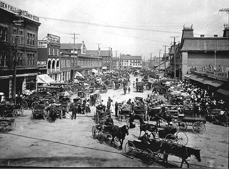 1918 Ottawa's Byward Market