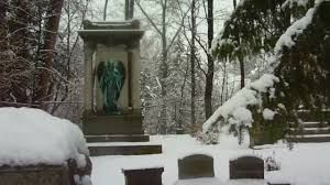 Vale Cemetery  Schenectady, New York - The largest cemetery in Schenectady, Vale Cemetery opened in 1857 and is said to be a spooky place, indeed. Witnesses say some of the statuary cries out at night or bleeds from the eyes or the tops of their heads.