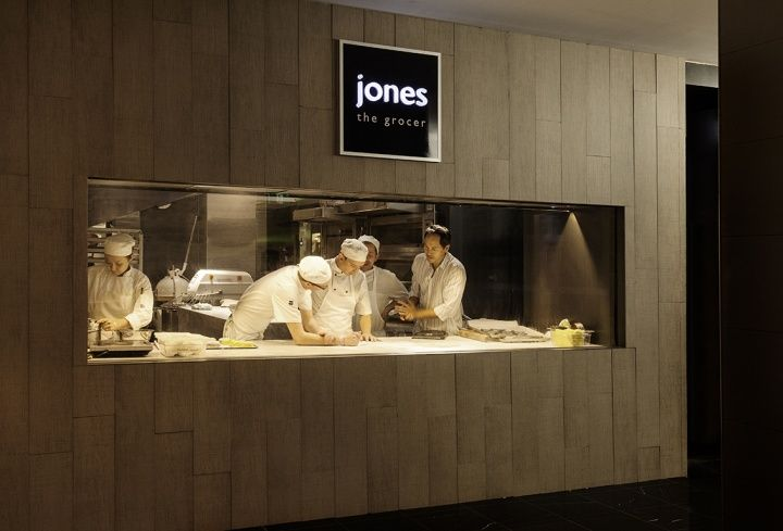 Jones the Grocer flagship store, restaurant by Landini Associates, Sydney » Retail Design Blog