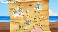 Una fantastica caccia al tesoro che vede come protagonisti i Quattro Pirati del Mar dei Sargassi e una piratessa birichina dalla mira infallibile!!!