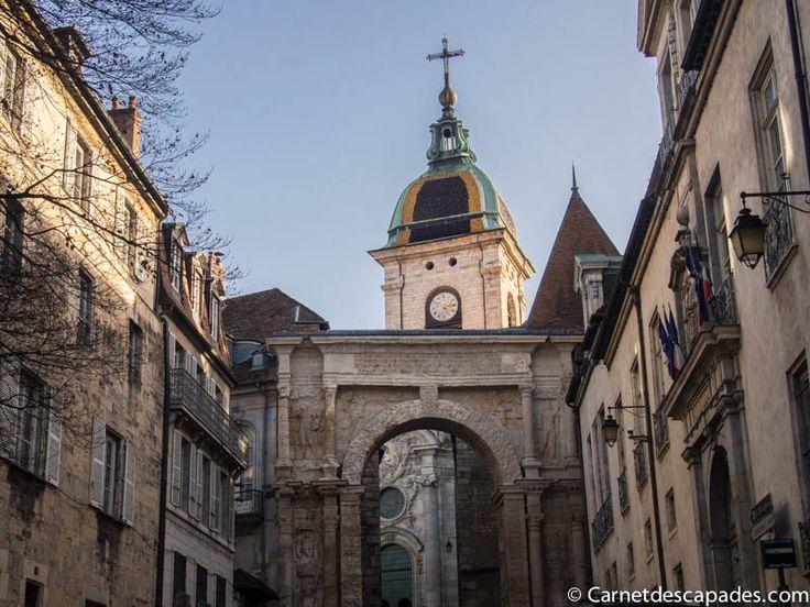 Un week-end à Besançon - Carnet d'escapades